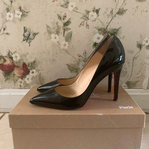 Pre-owned Christian Louboutin Pigalle 100mm Pumps